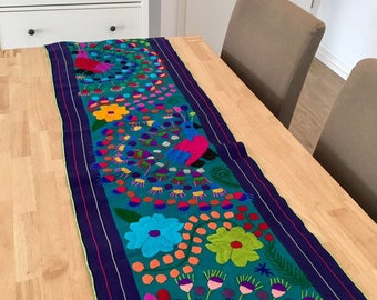 Mexican Table Runner Etsy