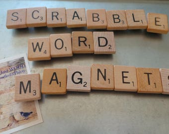 Magnets, Word Magnets, Letter Magnets, Scrabble Magnets, Frig Magnets, Magnetic Scrabble, You Pick Letters, Wedding Magnets, Wedding Words,