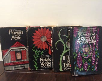 V.C.Andrews Flowers in the Attic Hardcover Book Series 1979-1984