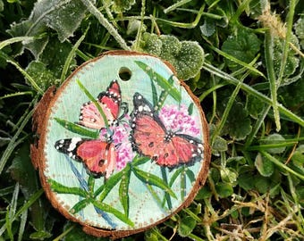 Butterflies, large ornament