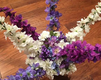 Spring/Summer Silk Flower Arrangement