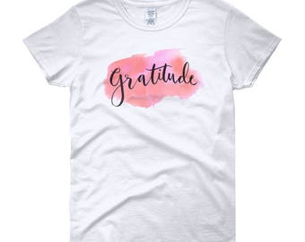 Gratitude Women's short sleeve t-shirt