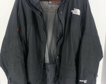 Vintage THE NORTH FACE Gore-Tex Xcr Summit Series Jacket Mens Large North Face Black Jacket Hoodie North Face Jacket Bomber Size L #A893