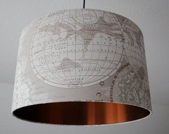 "Ceiling lamp ""Globus"" (gray)"