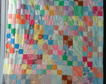 Patchwork quilt | Etsy : patchwork quilts for sale - Adamdwight.com