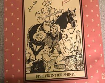 Folkwear 212 pattern - Five Frontier Shirts