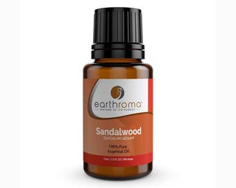 Sandalwood Essential Oil | 5 mL | 15 mL | 100% Pure Therapeutic Grade