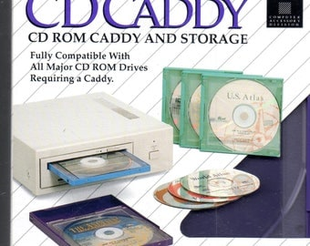 CD-ROM CADDY Case Drive Adapter - 3 Total - New - Unused.