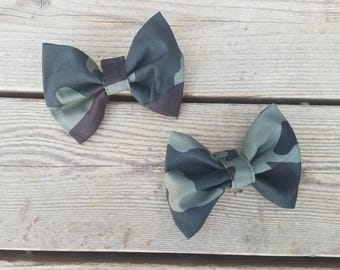 Camouflae Bow Tie