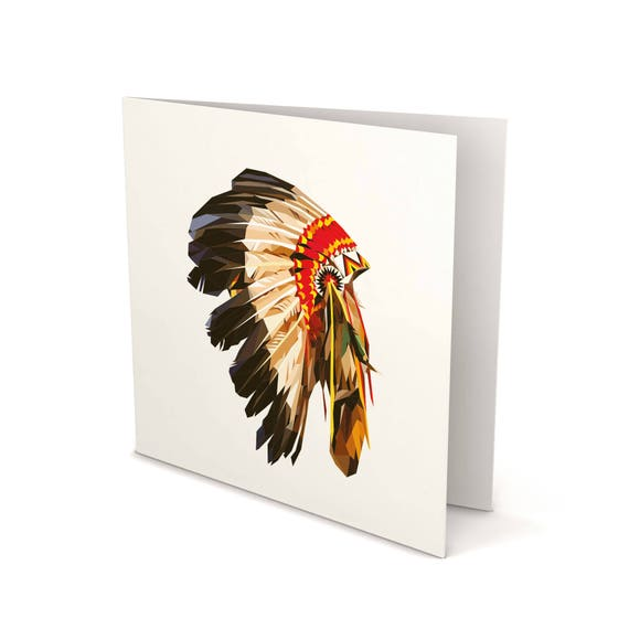 American indian greeting card american indian card american like this item m4hsunfo