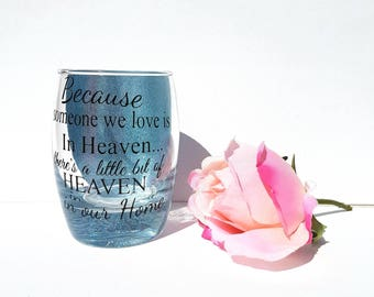 Memorial candle holder, in loving memory,Rememberence sympathy gift, pet memorial, infant loss, angel baby keepsake