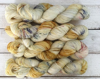 Hand Dyed Yarn - Indie Dyed Yarn - SW Sock - Belle