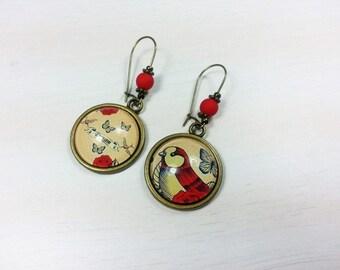 Geek earrings don't Rock - Dream swallow
