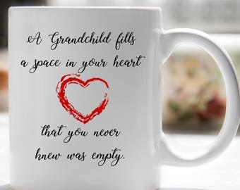 Grandmother Coffee Mug, Grandma Mug, Grandfather Coffee Mug, Grandpa Mug, Gift for Grandparents, Mug for Grandparents