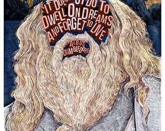 Famous Hair/ LInes: Albus Dumbledore