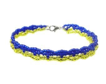 Ukraine - soccer fan bracelet - bracelet fan article (BS-1351)