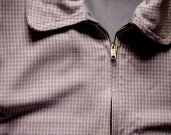 1950s Reversible Gabardine Rockabilly Jacket Sm-Md