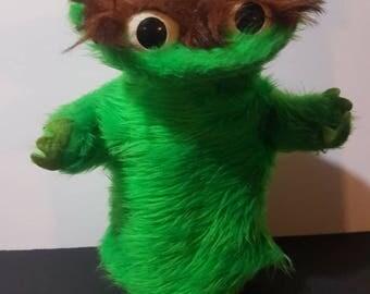 1970s Oscar the Grouch Hand Puppet