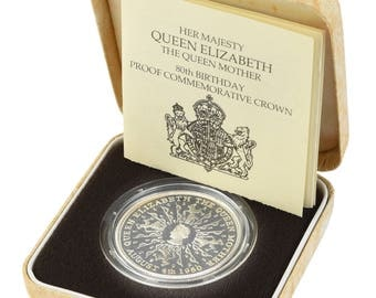 1980 Silver Proof Crown