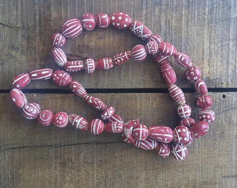 African tribal beads