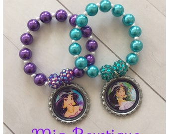 Princess Jasmine Birthday Party Favors, Jasmine party favors, Princess Jasmine Birthday, Aladdin Birthday, Aladdin party favors