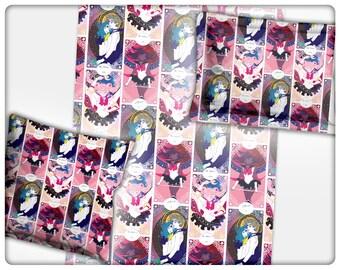 Sailor Senshi Tarot Bedding (blankets, pillows)
