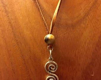 Spiral Dance Necklace