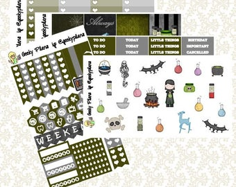 Potions Master Planner Stickers Weekly Kit