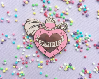 PREORDER ~ Amortentia -Love Potion hard enamel lapel pin ~ Harry potter
