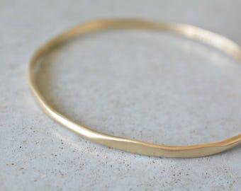14k gold bracelet, gold bracelet blanks, 14k bracelet bangle , name bracelet, Stackable bangle, 14k Bangle Bracelet, handmade gold bracelet