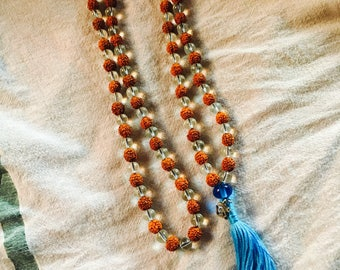 Mala Bead Necklace 'The Singing Yogi'