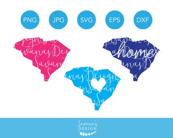 South Carolina SVG, South Carolina SVG Files, South Carolina Home Svg,  Svg South Carolina, South Carolina Clipart, South Carolina Cut File