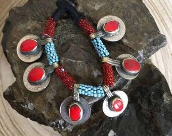 Vintage coral Kuchi bracelet kochi