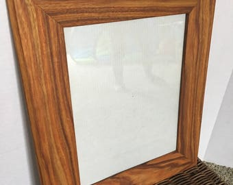 """8"""" x 10"""" canary wood picture frame"""