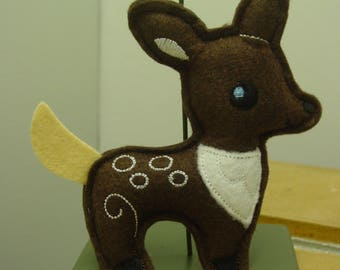 Embroidered Deer