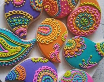 Custom Diwali Cookies
