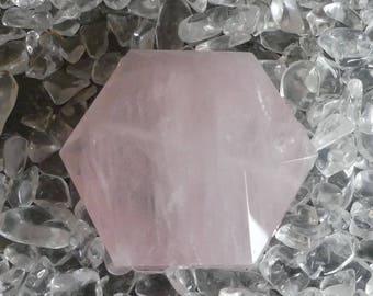 natural Rose Quartz Fairy Stone Tumblestone 0,973 oz