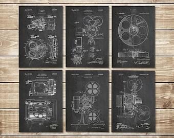 Cinema Studio Art, Patent Print Group, Movie Room Art, Hollywood Printable,Cinema Art Poster,Cinema Art Print,Cinema Print, INSTANT DOWNLOAD