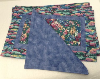 Quilted Placemat Set of 4