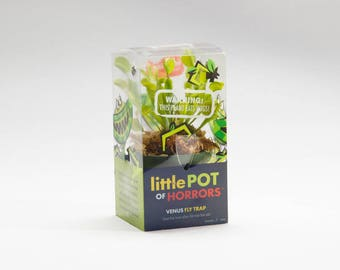 Venus Fly Trap - Live Plant - Dionaea Muscipula Flytrap - Carnivorous Plant 3 inch pot in gift packaging