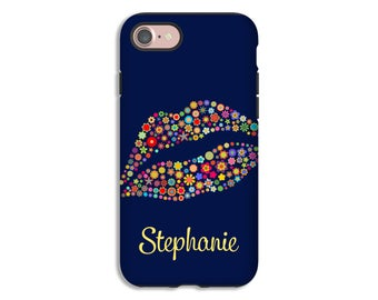 Lips iPhone 7 case, Galaxy S8 case, personalized iPhone 7 Plus case, personalized iPhone 6s/6s Plus/6/6 Plus cases, 3D phone cases