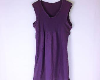 ISSEY MIYAKE me Cropped cotton sleeveless tunic