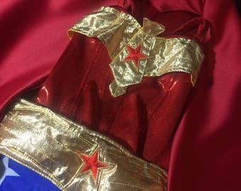 Wonder Woman Costume, Wonder Woman Inspired, Wonder Woman Dress