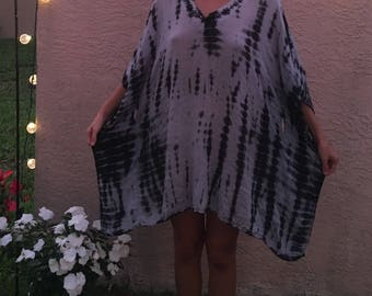 Tie Dye Hippie Dress One Size Fits Most
