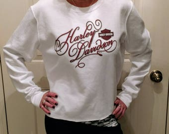 Women's Harley Davidson Sweatshirt