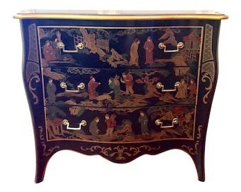 Chinoiserie Chest Of Drawers By Drexel