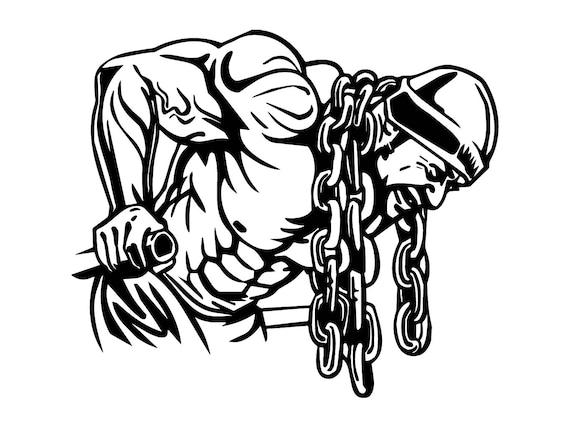 Bodybuilder #20 Bodybuilding Logo Front Pose Weightlifting