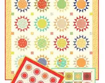 Nutmeg Stars 2 pattern from Joanna Figueroa. fig Tree Co quilt pattern