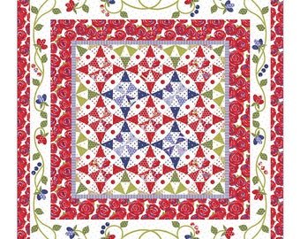 Through the Looking Glass quilt pattern from Jillily Studios , Jill Finley 1701