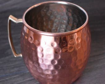 Nickle Plated Copper Mug
